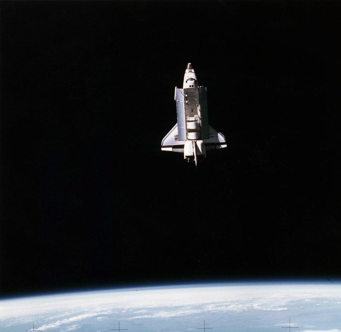 future space shuttle in orbit - photo #47