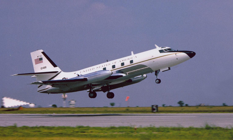JetStar 61-2488 in the 1970s.