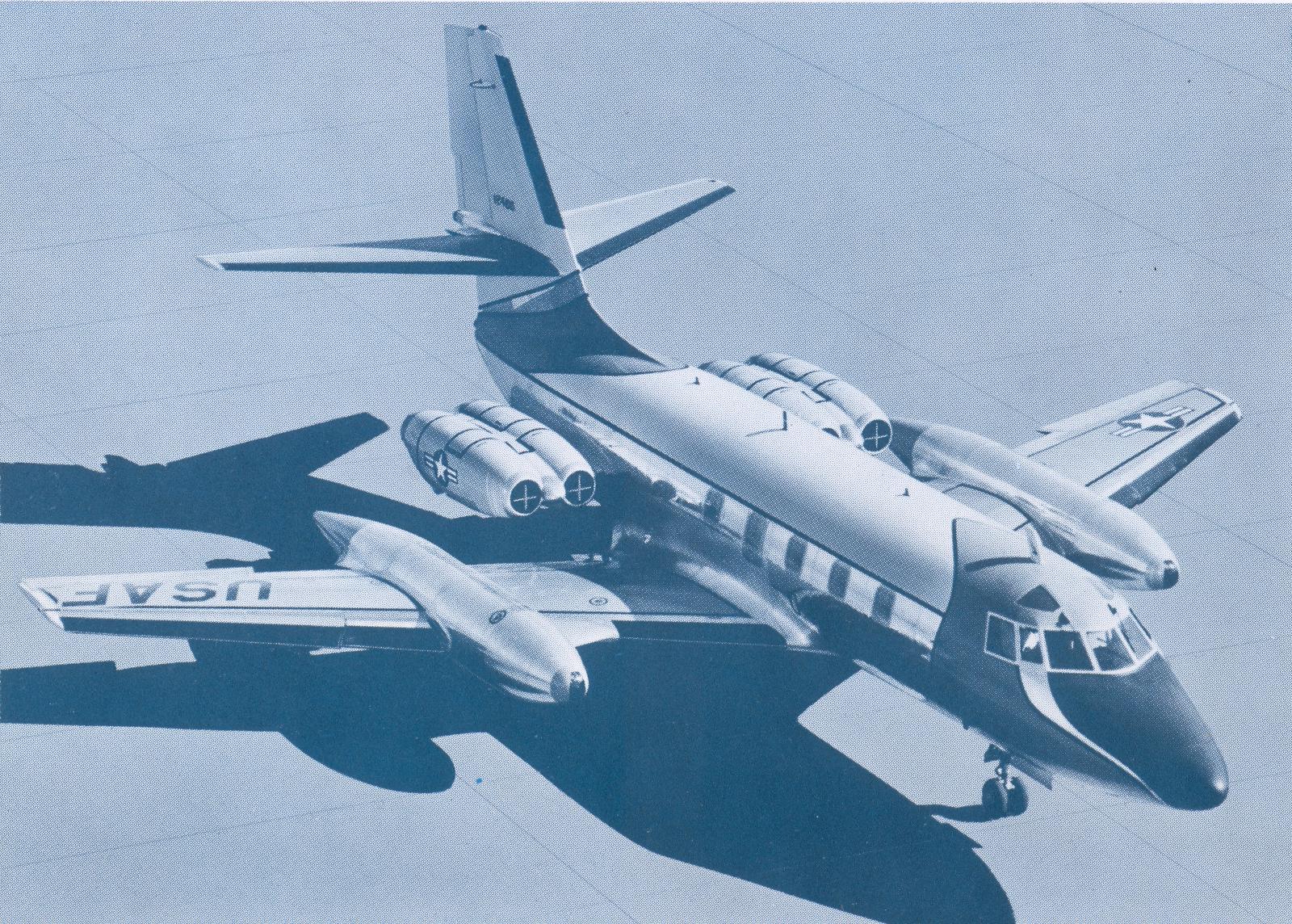 61-2488 shortly after it entered USAF service.