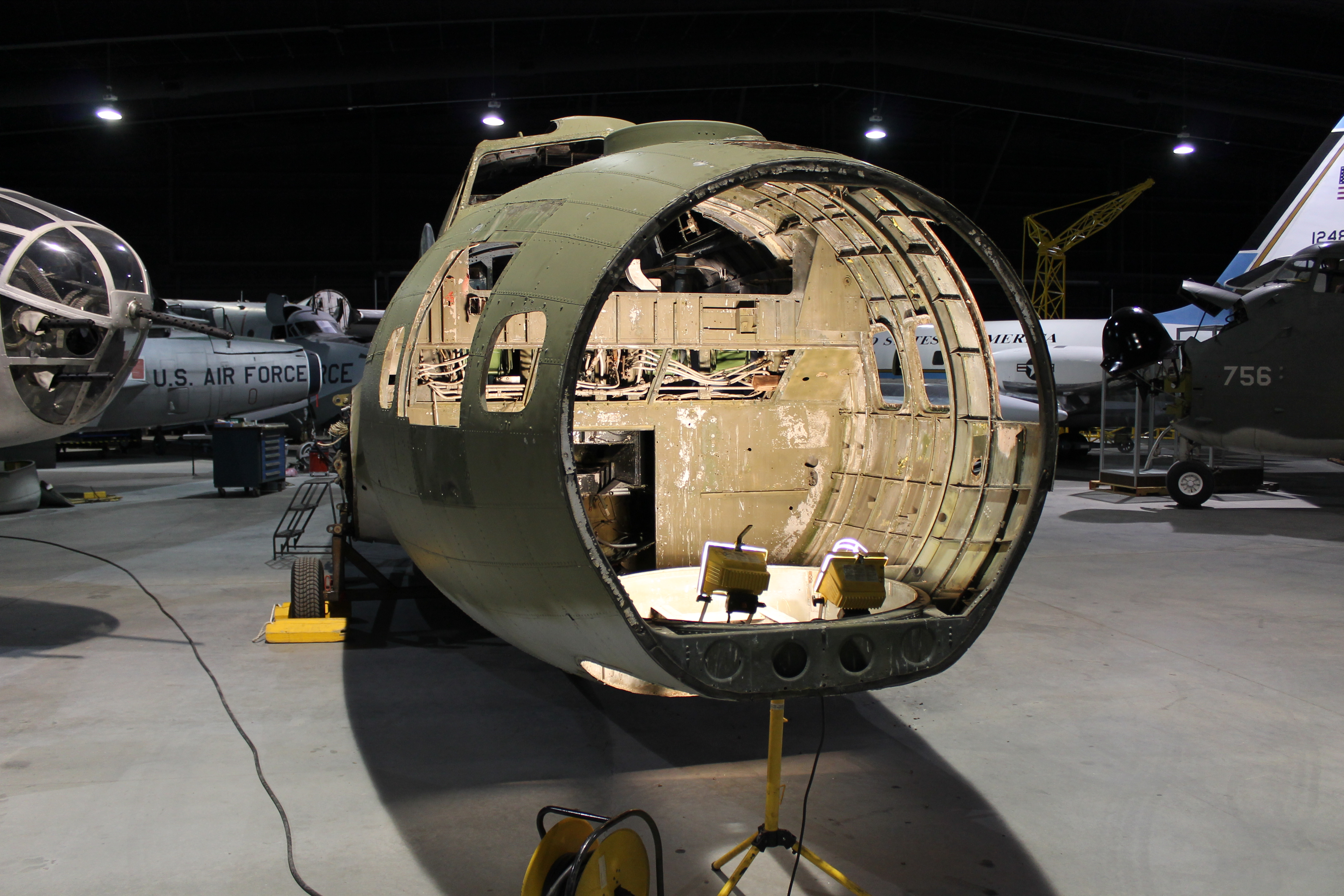 B-17 Flying Fortress Restoration Update #1 - Museum of Aviation